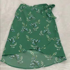Loft wrap skirt, new, never worn